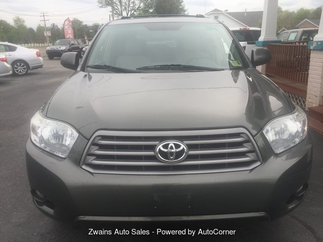2010 Toyota Highlander Sport 4WD 5-Speed Automatic