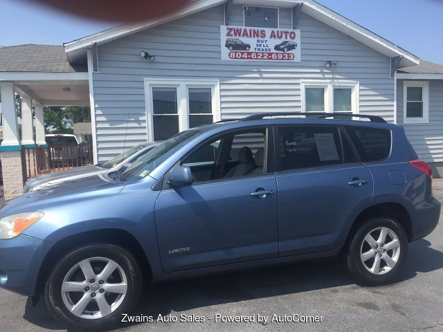 2007 Toyota RAV4 Limited I4 4WD 4-Speed Automatic
