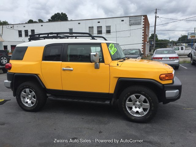 2007 Toyota FJ Cruiser 4WD AT 5-Speed Automatic